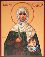 Икона св. Бригитты