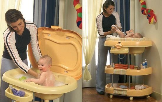 Первое купание новорожденного - традиционный обряд первого купания